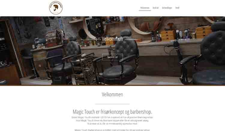 Magic Touch website